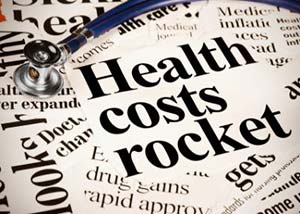 Health Costs rocket newspaper